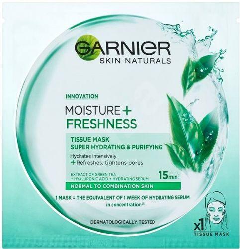 Garnier Superhydratační textilní maska MOISTURE+ FRESHNESS