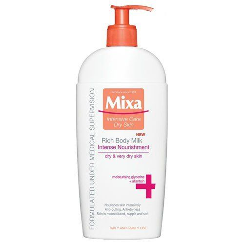 MIXA Intenzivní vyživující tělové mléko pro suchou pokožku 400 ml