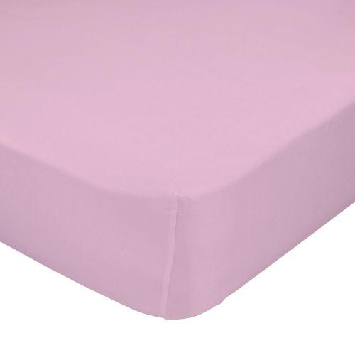 Mr. FOX růžové bavlněné prostěradlo