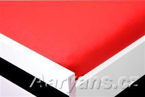 Aaryans červené jersey prostěradlo