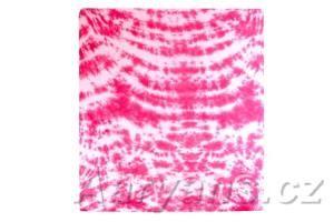 Aaryans batika růžové prostěradlo