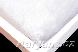 Aaryans šedé mikroflanelové prostěradlo