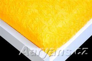 Aaryans žluté žakár prostěradlo