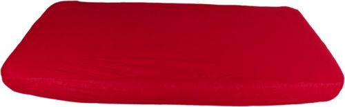 Kaarsgaren Červené prostěradlo a chránič matrace 2v1