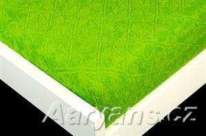 Aaryans Zelené žakárové prostěradlo
