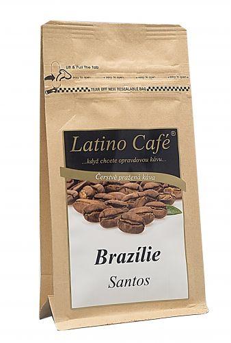 Great Tea Garden Káva Brazílie Santos mletá 100 g cena od 79 Kč