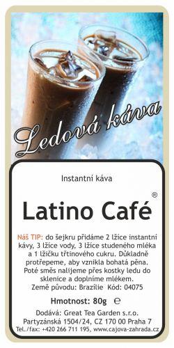 Great Tea Garden Ledová káva Latino Café ® cena od 79 Kč