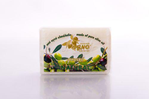 Agno Olivové mýdlo 100% přírodní bílé 100 g