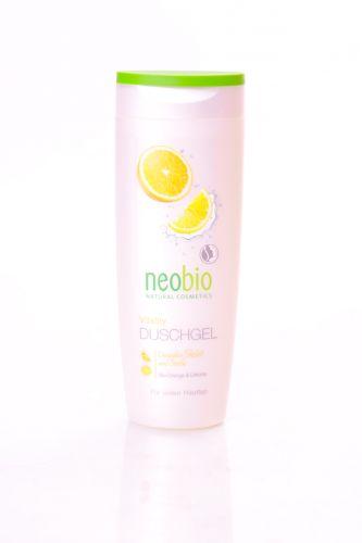 Neobio Sprchový gel Vitality s bio pomerančem a limetkou 250 ml