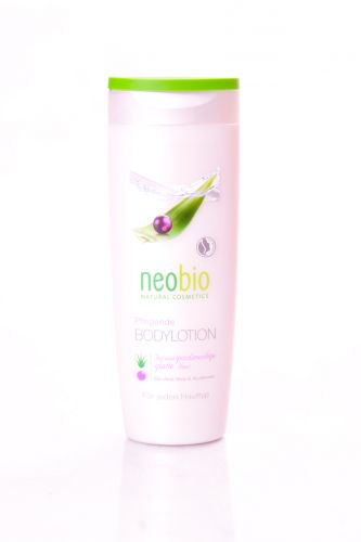 Neobio Výživné tělové mléko s bio aloe vera a acai 250 ml