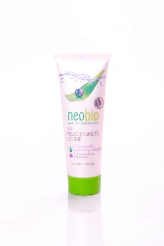 Neobio Hydratační krém 24h s bio aloe vera a acai 50 ml