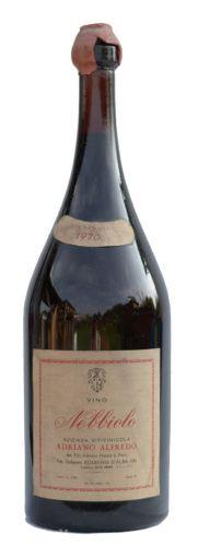 Adriano Alfredo Nebbiolo Archivní víno 1970 3 l