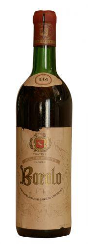 Aliberti Barolo Archivní víno 1964 0,75 l