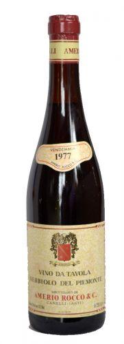 Amerio del Rocco Nebbiolo del Piemonte Archivní víno 1977 0,75 l