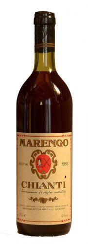 Marengo Chianti Archivní víno 1983 0,75 l