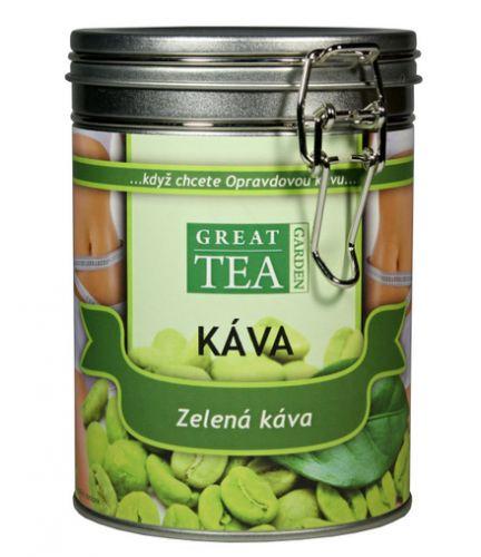 Great Tea Garden Zelená káva v dóze cena od 199 Kč
