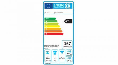Electrolux EWT11064IKW cena od 0 Kč