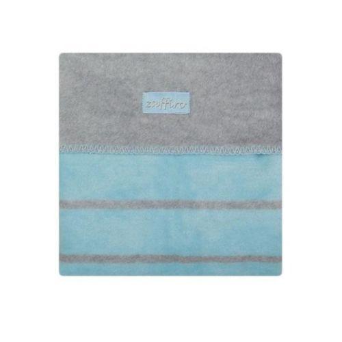 Womar Modrá bavlněná deka