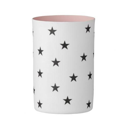 Bloomingville Porcelánový svícínek Rose Stars