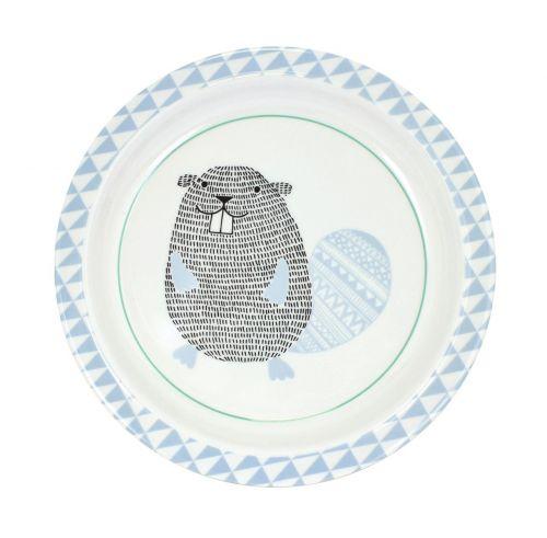 Bloomingville Dětský melaminový talíř Beaver