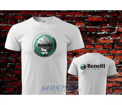 Benelli bílé triko