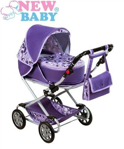 New Baby Kočárek pro panenky 2v1