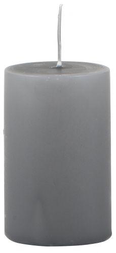 IB LAURSEN Svíčka Dark grey 10 cm