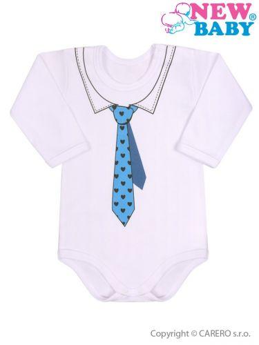 New Baby body s kravatou