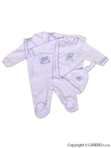 NEW BABY 4-dílná soupravička s kabátkem