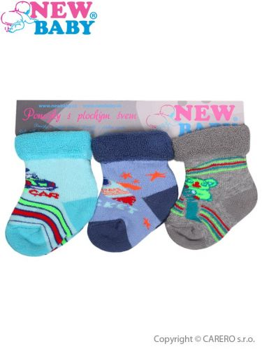 New Baby froté ponožky