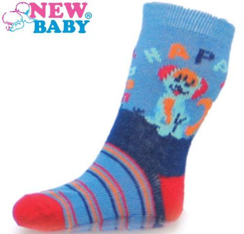 New Baby bavlněné ponožky happy dog