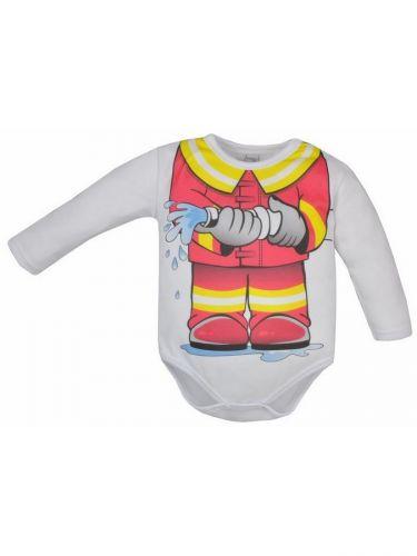Bobas Fashion Hrdina s hasičem body
