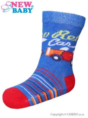New Baby bavlněné ponožky retro car