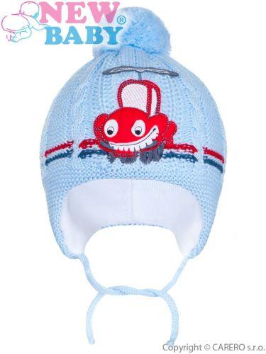 New Baby autíčko čepice