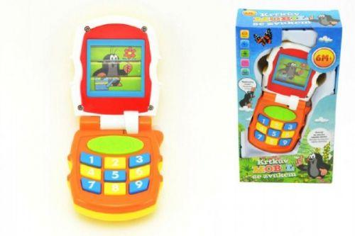 Teddies Krtkův mobil telefon měnící obrázky cena od 0 Kč