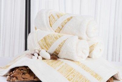 XPOSE MINA smetanový bambusový ručník