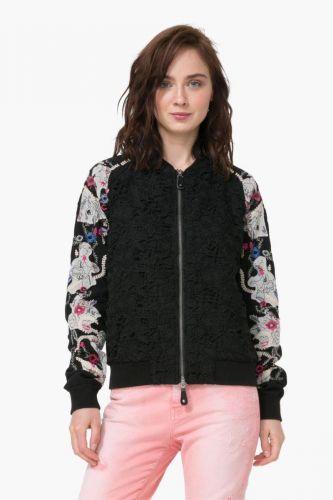 Desigual Chaq Niebla kabát cena od 5499 Kč