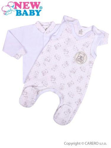 New Baby Roztomilý Medvídek 2-dílná kojenecká souprava