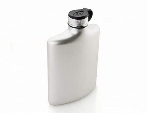 GSI Glacier Stainless Hip Flask 8