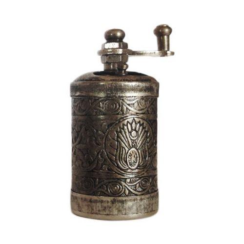 GourmetKava Antik stříbro Mlýnek na pepř a sůl