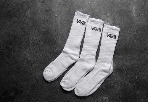 Vans Socks M Classic Crew White 3 Pairs ponožky cena od 350 Kč