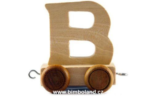 Bino Dřevěný vagónek B