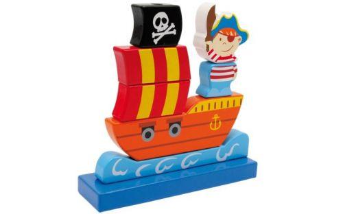 Legler Skládanka Pirátská loď cena od 222 Kč