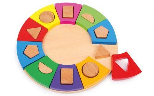 Legler Kruh k rozpoznání tvarů cena od 391 Kč