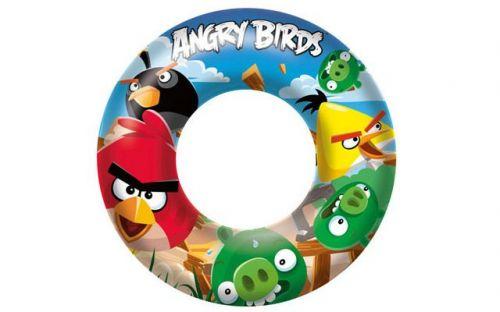 BestWay Nafukovací kruh Angry Birds cena od 28 Kč