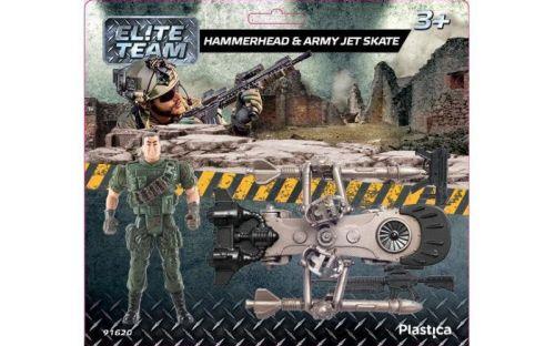 Plastica Hammerhead & Army Jet Skate