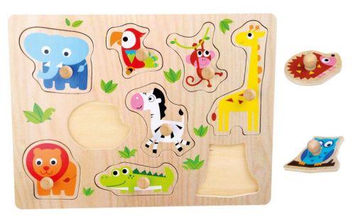 Legler Puzzle Zoologická zvířata cena od 0 Kč
