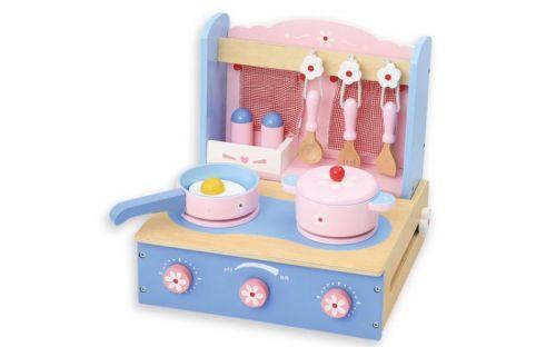 Andreu Toys Dětská modrá stolní kuchyňka