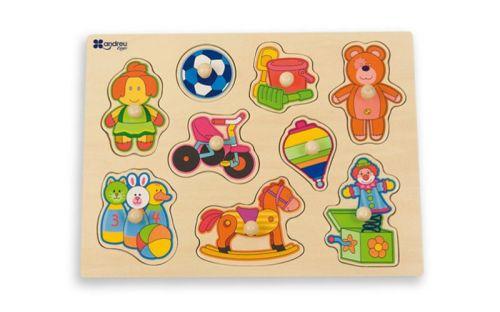 Andreu Toys Puzzle hračky
