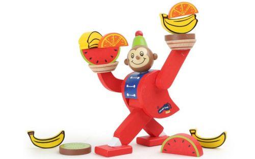 Legler Cirkusová opička balanční hra cena od 219 Kč